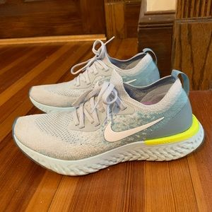 Nike Epic React Volt Glow Fly Knit Running Shoes 8